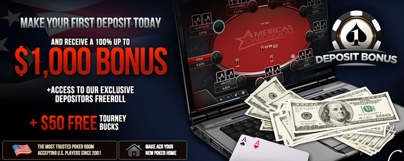Top Five Reasons To Play Poker On Americas Cardroom Poker News