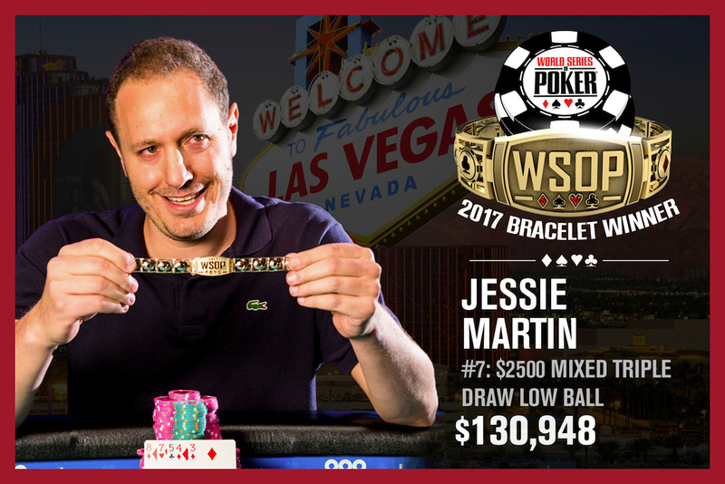 Jesse Martin Wins 2017 World Series Of 2500 Mixed Triple Draw Lowball Event