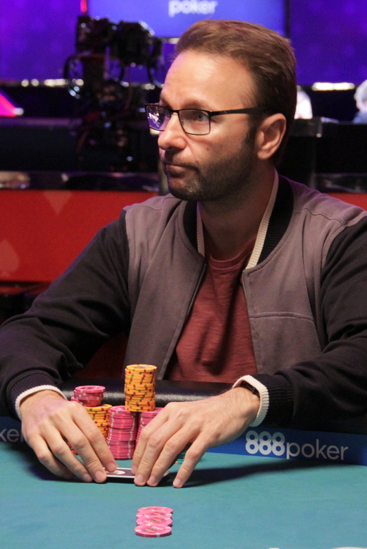 Daniel Negreanu in the 2017 WSOP $10,000 Omaha Eight-or-Better Championship