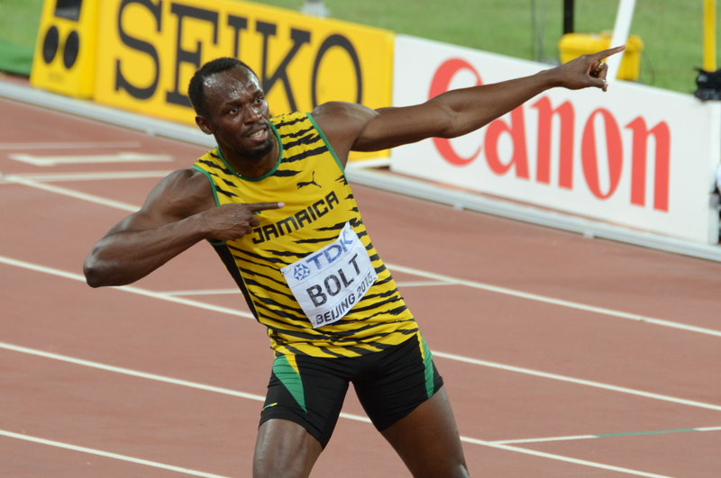 Not so fast young man, Bolt cautions De Grasse
