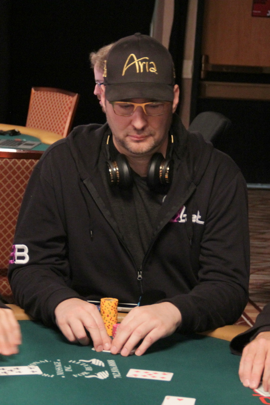 Phil Hellmuth on day 2