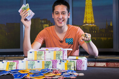 Adrian Mateos Diaz wins the 2013 WSOP Europe main event
