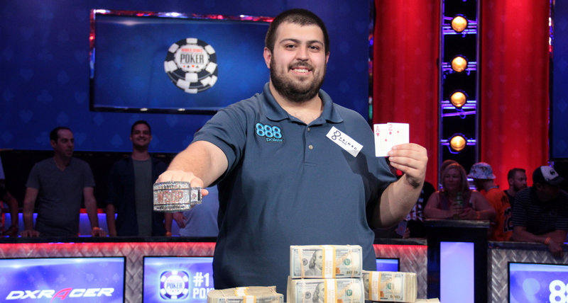 Who won world series of poker 2018 main event