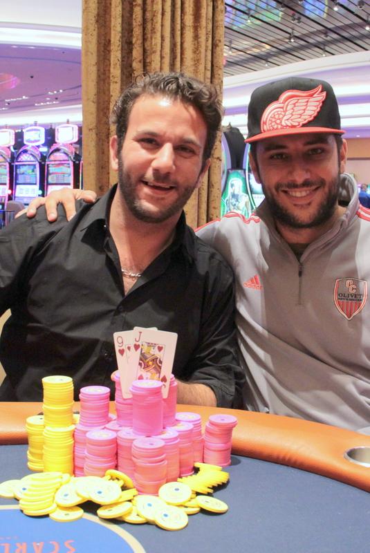 Champion John Langevin and runner-up Matt Sirchia