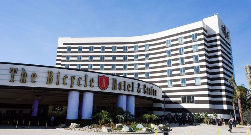 The Bicycle Hotel & Casino In Bell Gardens, California