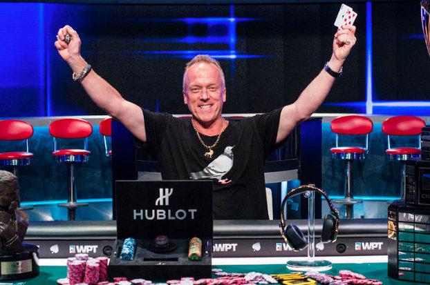 2016 Legends of Poker champion Pat Lyons