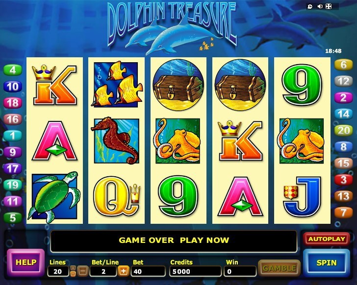 Dolphin Treasure Slots
