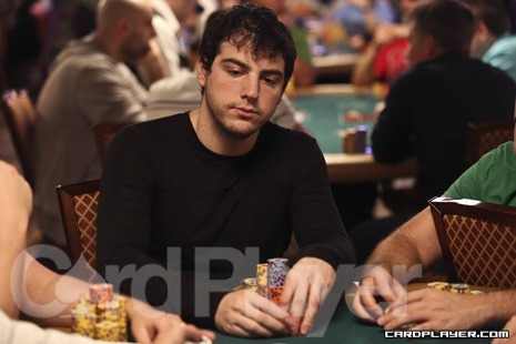 Stern at the 2012 WSOP