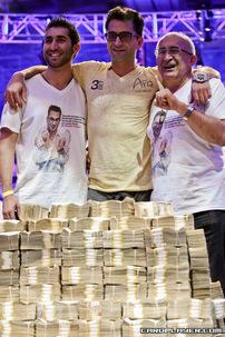2012 Big One For One Drop champion Antonio Esfandiari
