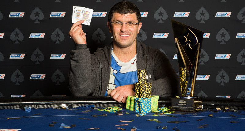 Leon Tsoukernik After Winning 2016 EPT Prague High Roller