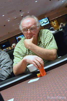 Chip leader Paul McLean