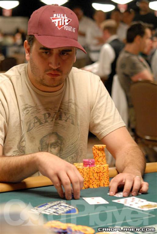 Chip Leader Robert Mizrachi