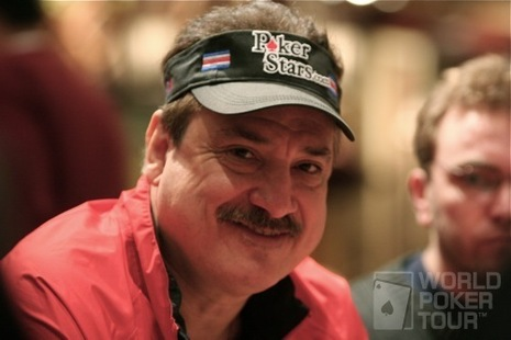 Humberto Brenes on Day 2 of the WPT Doyle Brunson Five Diamond World Poker Classic