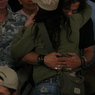 Annie Duke Hugs Joe Reitman