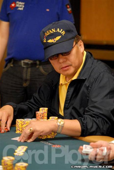Kevin Song is overnight chip leader