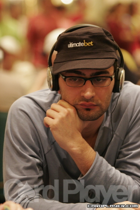 Antonio Esfandiari wishes he won more in his hand against Hellmuth.