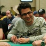 Antonio Esfandiari on Day 1 of the WPT L.A. Poker Classic