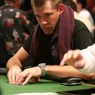 Layne Flack on Day 1 of the WPT Reno World Poker Challenge