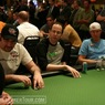 "Mike Matusow, Allen Kessler, and Greg ""FBT"" Mueller on Day 1 of the WPT Reno World Poker Challenge"