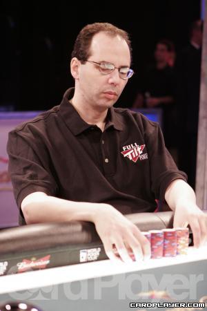 Kessler at a WPT final table