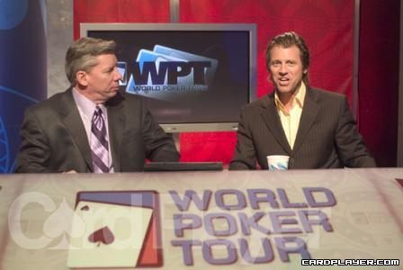 Mike Sexton and Vince Van Patten on the WPT