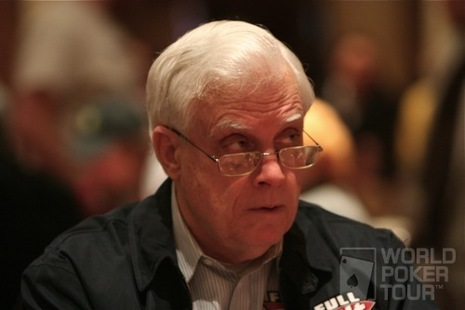 Berry Johnston on Day 2 of the WPT Doyle Brunson Five Diamond World Poker Classic