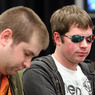 Gavin Griffin (left) and Jonathan Little on Day 1a of the WPT North American Poker Championship at the Fallsview Casino