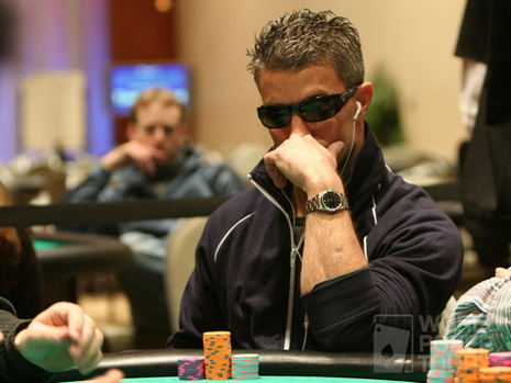 Joe Brooks on Day 3 of the WPT Borgata Poker Classic