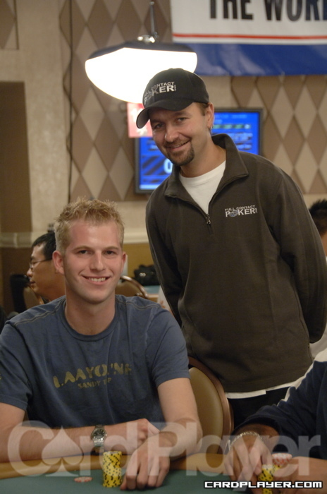 Greg DeBora and Daniel Negreanu