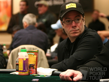 Jamie Gold on Day 1a of the WPT Tunica World Poker Open