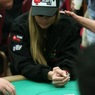 Shooting Star Vanessa Rousso is all in on Day 1a of the WPT Bay 101 Shooting Star Tournament