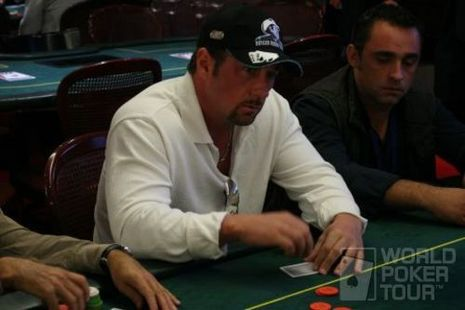 Sean McCabe on Day 1B of the WPT Spanish Championship