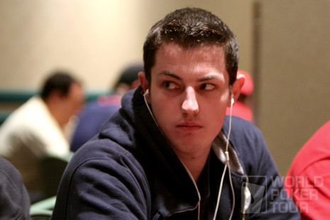 "Tom ""Durrr"" Dwan on Day 1b of the 2007 Foxwoods World Poker Finals"