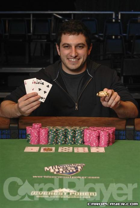 Galfond at the 2008 WSOP