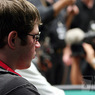 Chipleader Jonathan Little (left) is unfazed by the crowds at the final two tables of the WPT North American Poker Championship at the Fallsview Casino