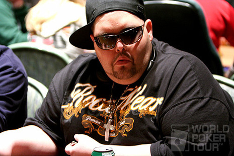 Joe Cappello on Day 1b of the 2007 Foxwoods World Poker Finals
