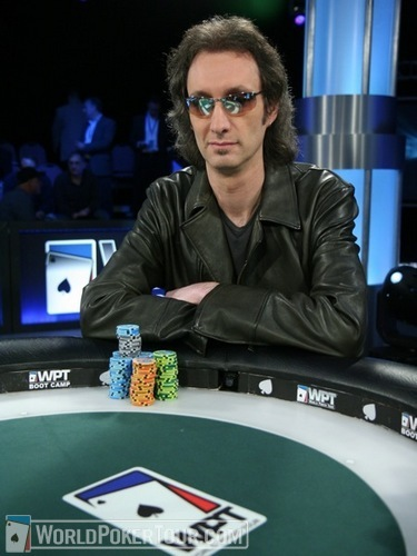 Andrew Barta at the final table of the WPT Foxwoods Poker Classic