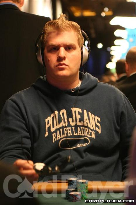 Matt Vengrin at the 2008 WSOP