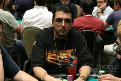 Nick Frangos on Day 1 of the Borgata Poker Open