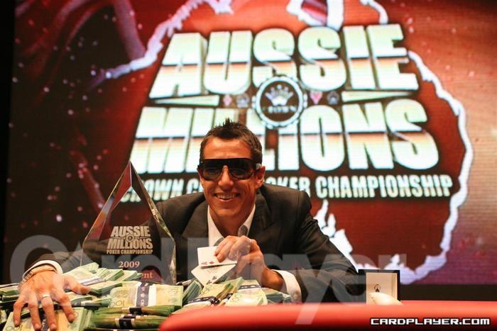 Stewart Scott Wins 2009 Aussie Millions
