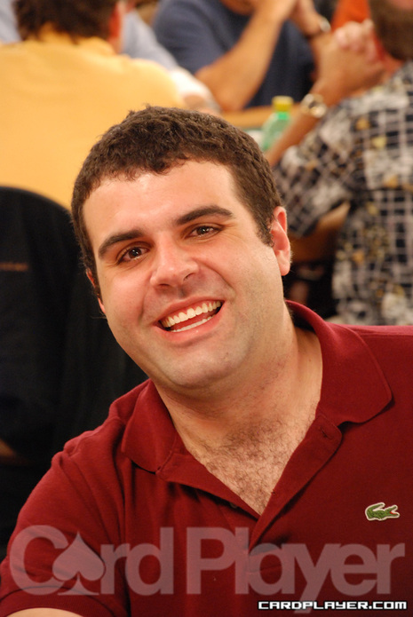 Jon Van Fleet at the 2007 WSOP