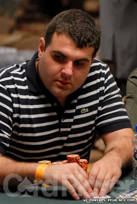 Jon Van Fleet at the 2008 WSOP