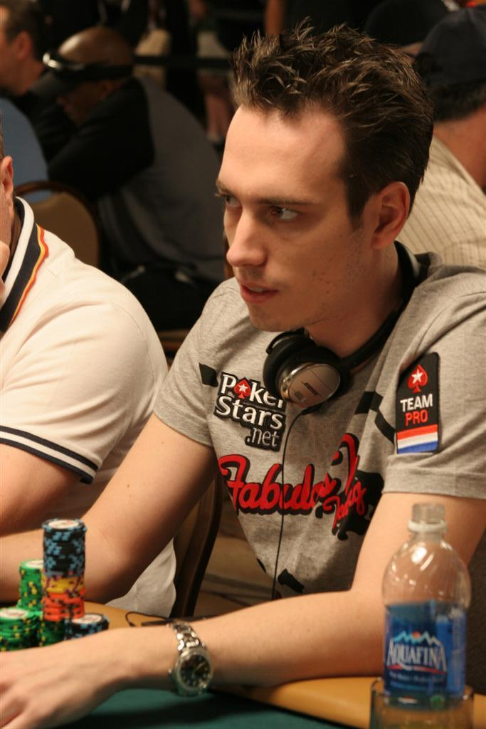 Lex Veldhuis at EPT Barcelona
