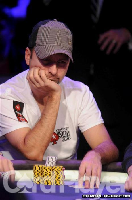 Negreanu had to rebuy twice on the most recent episode.