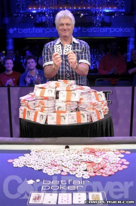 Barry Shulman won the 2009 WSOPE main event