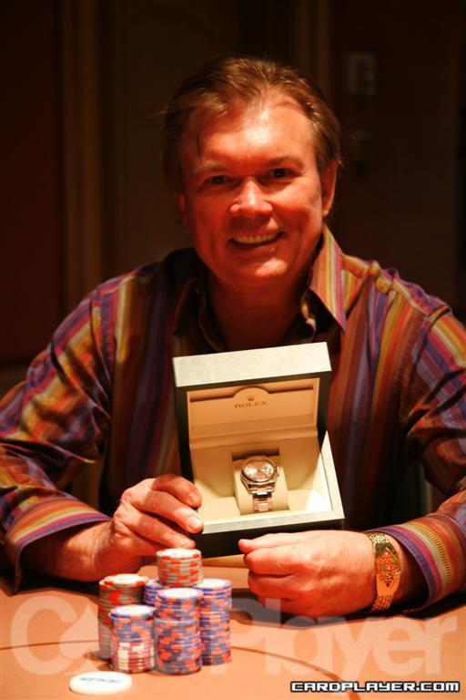 Ted Lawson Wins the $10,000 PLO event at the 2009 Festa al Lago Classic at Bellagio