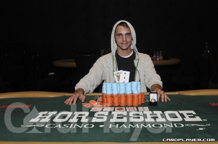 World Series Of Poker Circuit Dan Livingston Wins