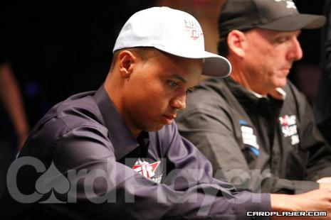 Phil Ivey and Kevin Schaffel