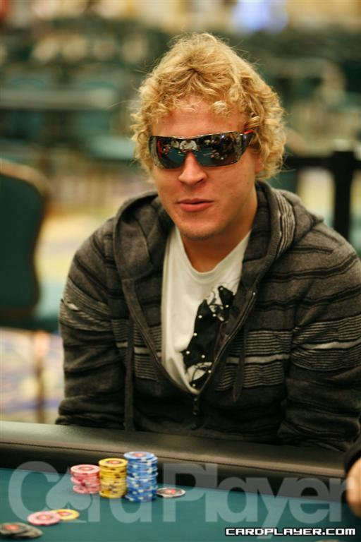 William Reynolds is the Final-Table Chip Leader