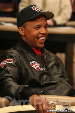 Phil Ivey had plenty of reason to smile after last night's episode of High Stakes Poker.